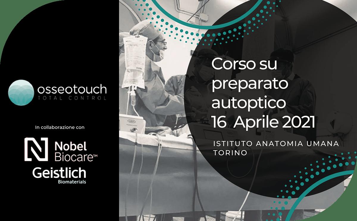 Corso Preparato Autoptico Magnetic Mallet Torino 16 Aprile 2021